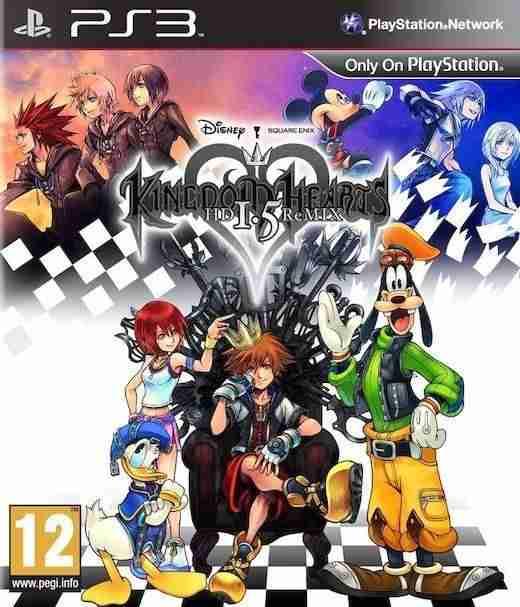 Descargar Kingdom Hearts HD 1.5 ReMIX [MULTI][Region Free][FW 4.3x][PROTON] por Torrent